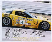 2003 Corvette Racing Team Autographed Photo